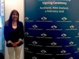 Ministra Silva en Nueva Zelanda: Perú reafirmará su política de apertura comercial con la firma del TPP