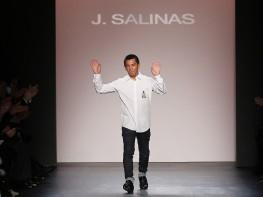 Jorge Luis Salinas triunfa en el Fashion Week de Nueva York