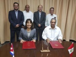 Perú y Cuba acuerdan estrechar sus relaciones comerciales y profundizar el Acuerdo de Complementación Económica