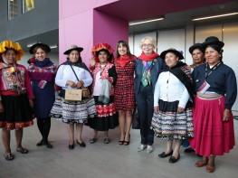 Ministra Magali Silva clausura ferias Perú Moda y Perú Gift Show 2016