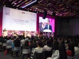 Presidente Ollanta Humala inaugura 2º Foro Mundial de Turismo Gastronómico