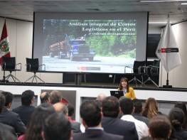 Ministra Silva destaca necesidad de trabajar en la reducción de costos logísticos para elevar la competitividad del comercio exterior