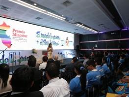 Ministra Silva presentó la IX edición del Premio Mincetur que reconocerá a los ganadores con más de S/. 2 millones