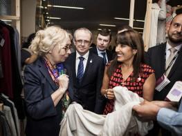 """Ministra Silva: """"Perú Moda2016 generó negociospor US$ 80 millones"""""""