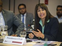 Ministra Magali Silva: Se afina estrategia para mejorar la competitividad y cooperación turística de las Américas