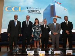 Ministra Silva saluda designación del nuevo Presidente y Consejo Directivo de la CCL