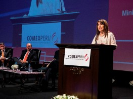 Ministra Silva: el Perú institucionaliza y consolida su política de apertura comercial integrándose al TPP