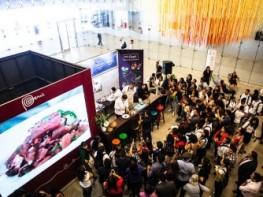 Asistentes al 2° Foro Mundial de Turismo Gastronómico disfrutaron de activaciones de cacao, pisco y cebiche