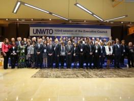 Ministra Magali Silva participó en la 103° Reunión del Consejo Ejecutivo de la Organización Mundial de Turismo en España