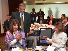 Ministra Silva se reunió con congresistas de Estados Unidos