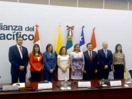 Ministra Silva participó en reunión de Ministros de la Alianza del Pacífico