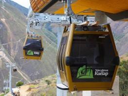 Mincetur invierte S/. 81 millones en la construcción del Teleférico de Kuélap en la región Amazonas