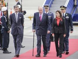 Ministra Magali Silva recibió al Rey Emérito de España en representación del Presidente de la República