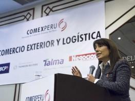 Ministra Magali Silva señala que se ha fortalecido la política de apertura comercial del Perú en los últimos cinco años