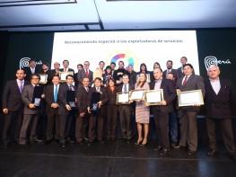 Empresas son reconocidas con premio PERÚ EXPORTA SERVICIOS