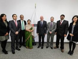 """Ministro Ferreyros: """"Acuerdo comercial con la India abrirá mercado para nuestras exportaciones de servicios"""""""