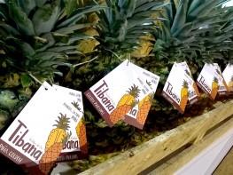 Productores del VRAEM inician exportaciones de piña con marca desarrollada por Mincetur