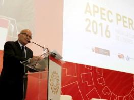 """Ministro Ferreyros: """"El Perú promueve la liberación y facilitación del comercio e inversiones desde hace 15 años"""""""
