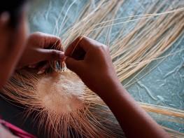 Mincetur capacitará a artesanas piuranas para mejorar la calidad de sus trabajos en fibra vegetal