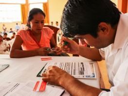 Más de 50 artesanos se formalizaron durante Primer Encuentro de Artesanos de Satipo