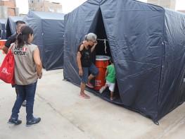 Mincetur: primeros albergues se instalan en Lambayeque para el resguardo de 1 300 pobladores