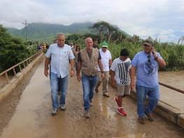 Ministro Ferreyros: se realizan esfuerzos para recuperar tránsito de vehículos y personas en Lambayeque