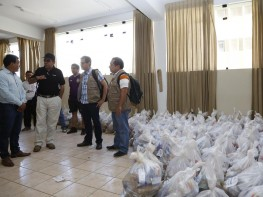 Mincetur: 42.5 toneladas de alimentos se distribuyen a familias de caseríos de Lambayeque