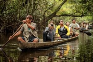SAN MARTÍN -Paseo en bote en Tingana (Turismo Rural Comunitario)