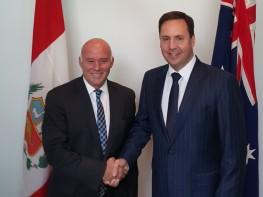 Ministro Ferreyros: Perú y Australia inician negociaciones de TLC bilateral en julio