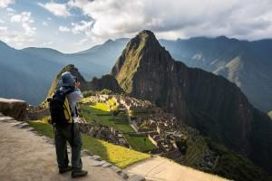 Turista en Machu Picchu (2)