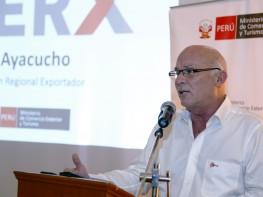 """Ministro Ferreyros: """"Ayacucho priorizará exportación de productos andinos"""""""