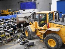 Mincetur destruyó más de 400 máquinas tragamonedas de uso ilegal