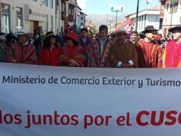 Mincetur promovió Cultura Turística durante gran desfile cívico en homenaje a la ciudad de Cusco 2017