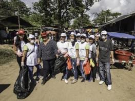Más de 300 voluntarios recolectaron 13 toneladas de desechos en la Laguna Yarinacocha