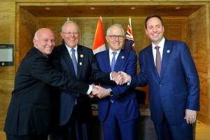 Presidente Kuczynski sostuvo encuentro bilateral con primer ministro de Australia, Malcolm Turnbull