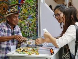 """""""Arte Nativa 2017"""" presenta bellas artesanías de trece pueblos originarios amazónicos del Perú"""