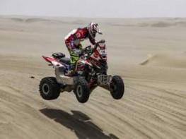 Dakar 2018: peruano Alexis Hernández avanza a tercer lugar en general de cuatrimotos
