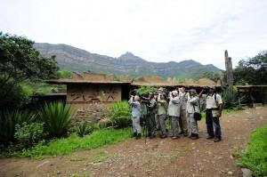 Turistas observando aves - Heinz Plenge - PromPerú