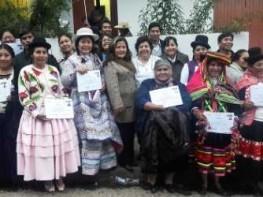 Mincetur: 81 artesanos del Perú son reconocidos como expertos en diseño textil